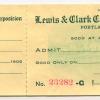 Admission pass