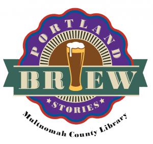 Multnomah County Library Portland Brew Stories logo