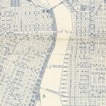 Downtown Portland map near waterfront