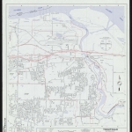 Map of Troutdale city limits